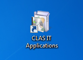 How to install software using CLAS IT Applications