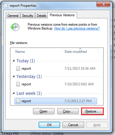 How to Recover Files and Folders in Shared Drives – Help and