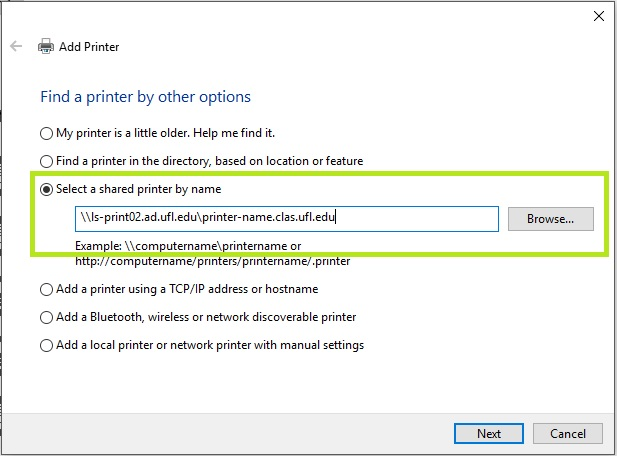 Add a Network Printer in Windows – Help and How-to – CLAS IT
