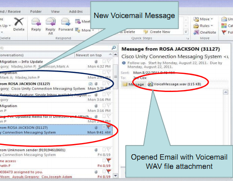Using Voicemail to Email (Single Inbox) – Help and How-to – CLAS IT